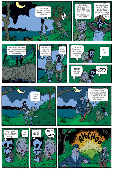Dead Man at Devil's Cove, Chapter 1, Page 17