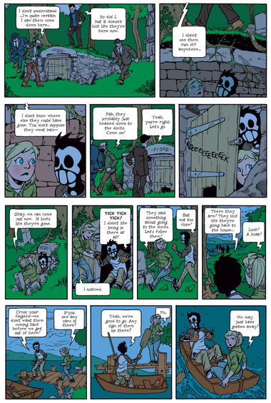 Dead Man at Devil's Cove, Chapter 1, Page 21