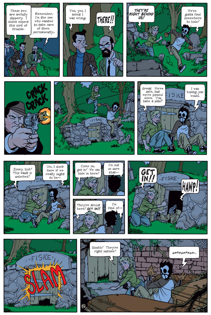 Dead Man at Devil's Cove, Chapter 1, Page 20