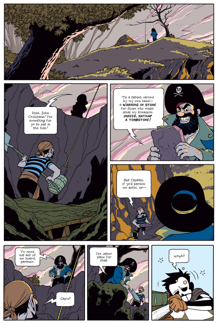 Dead Man at Devil's Cove, Chapter 3, Page 61
