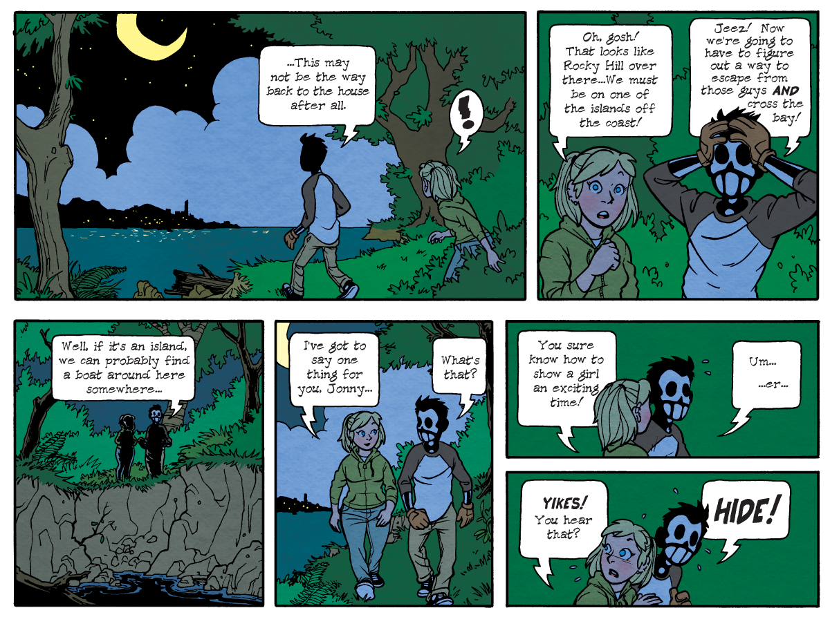 Dead Man at Devil's Cove, Chapter One, Page 17A