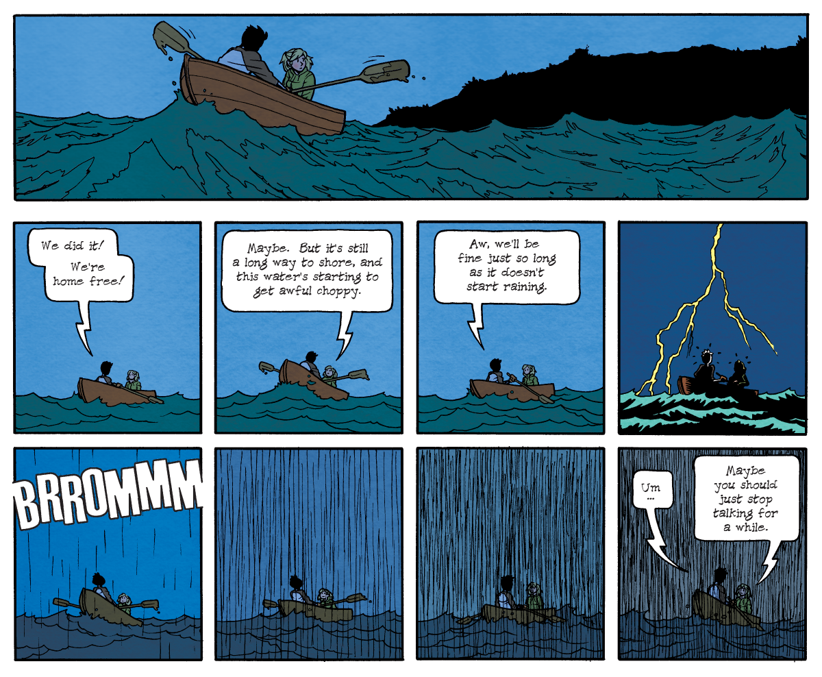 Dead Man at Devil's Cove, Chapter One, Page 22A