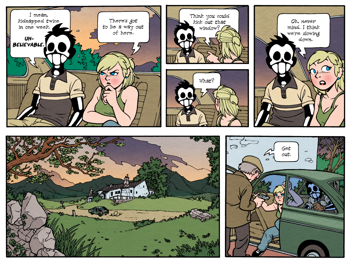 Dead Man at Devil's Cove, Chapter Two, Page 33B