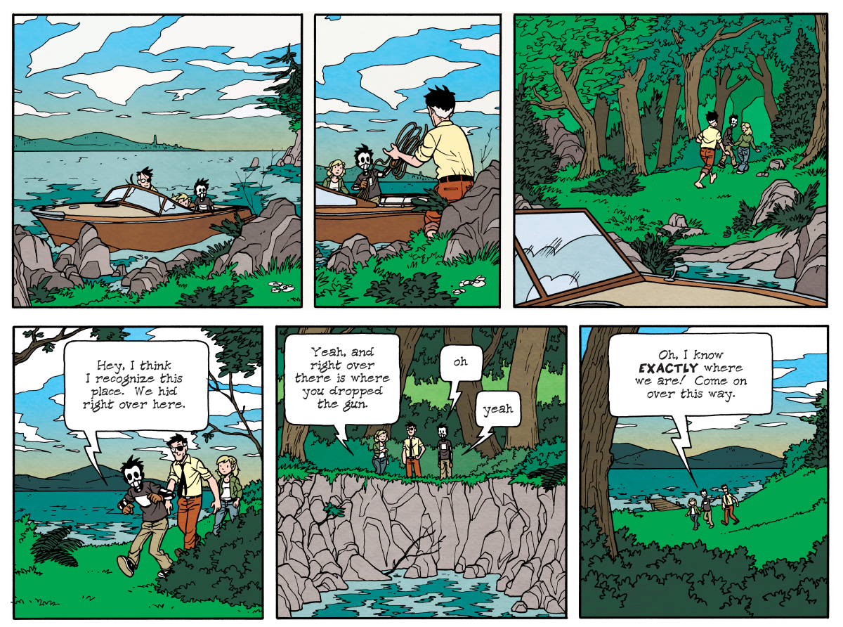 Dead Man at Devil's Cove, Chapter Three, Page 75A