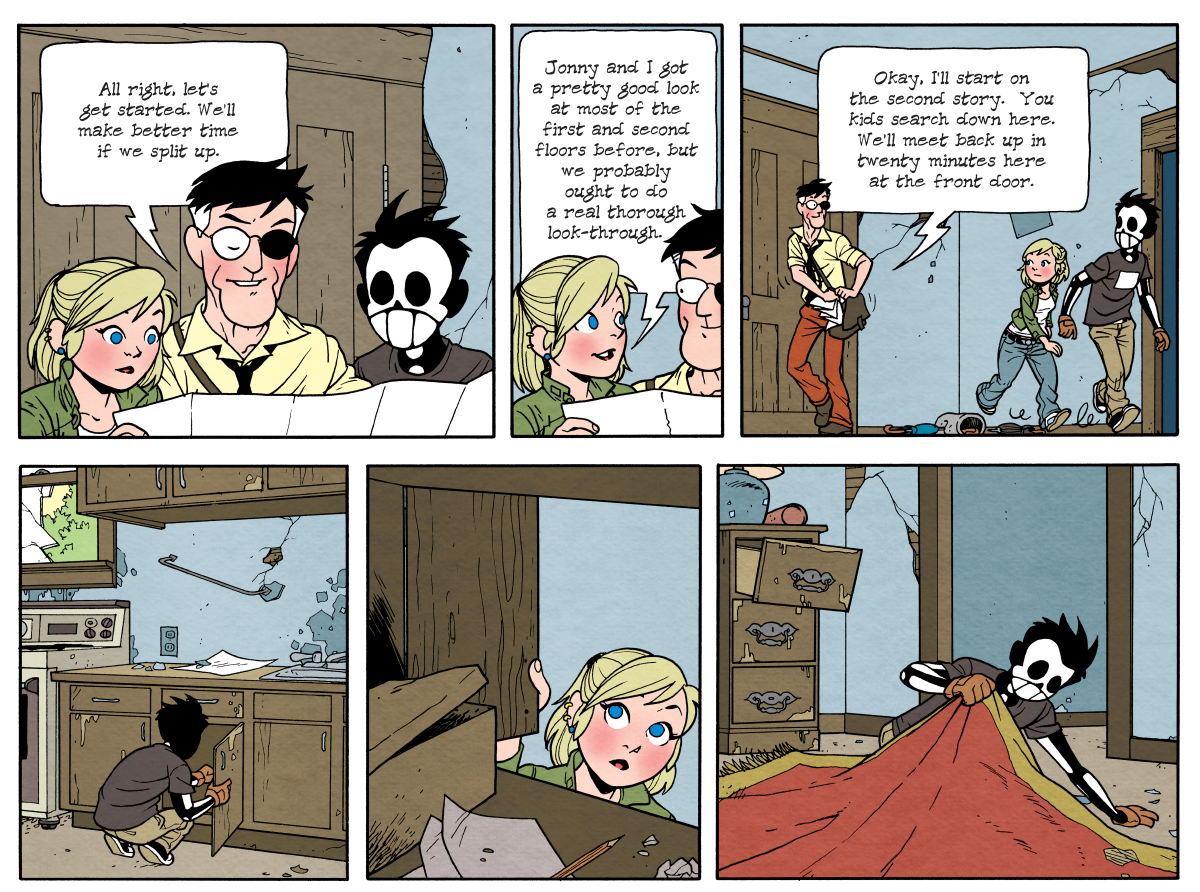 Dead Man at Devil's Cove, Chapter Three, Page 76A