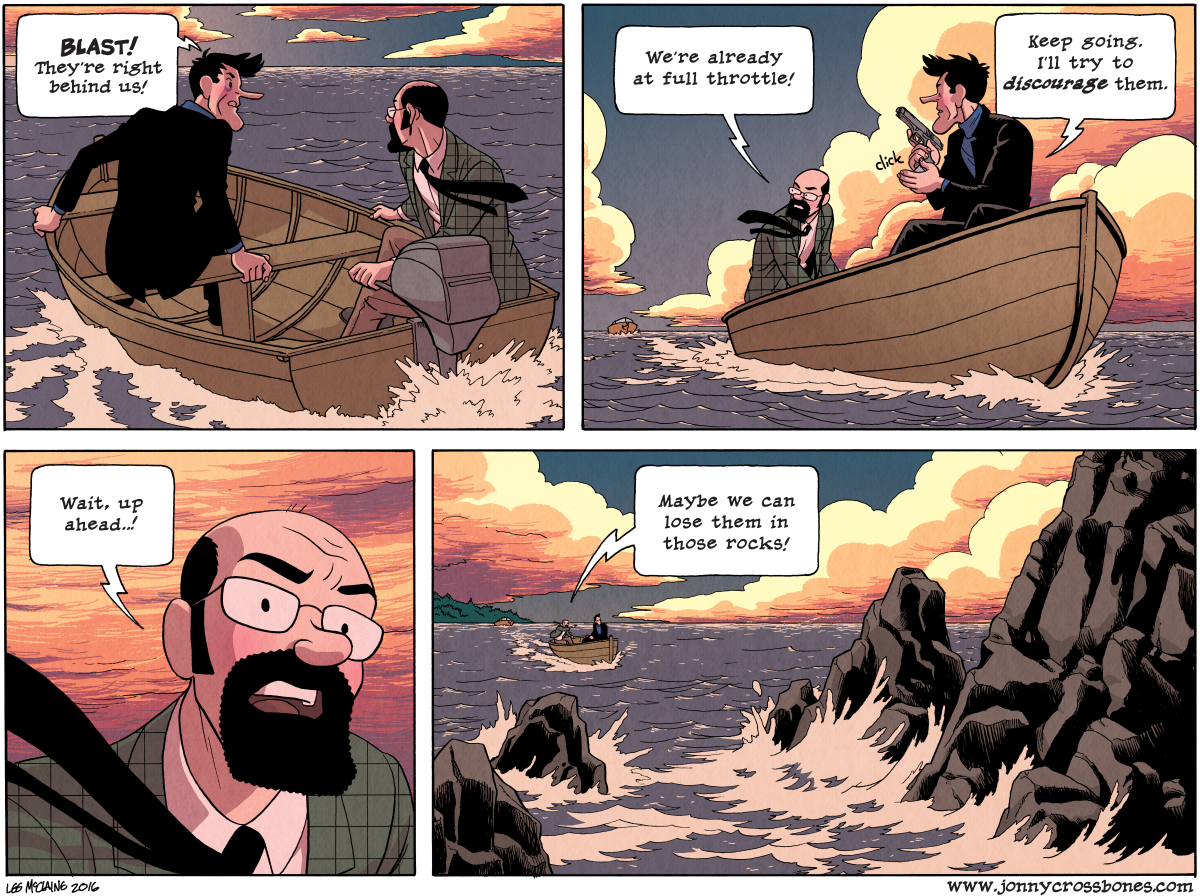 Dead Man at Devil's Cove, Chapter Three, page 89B