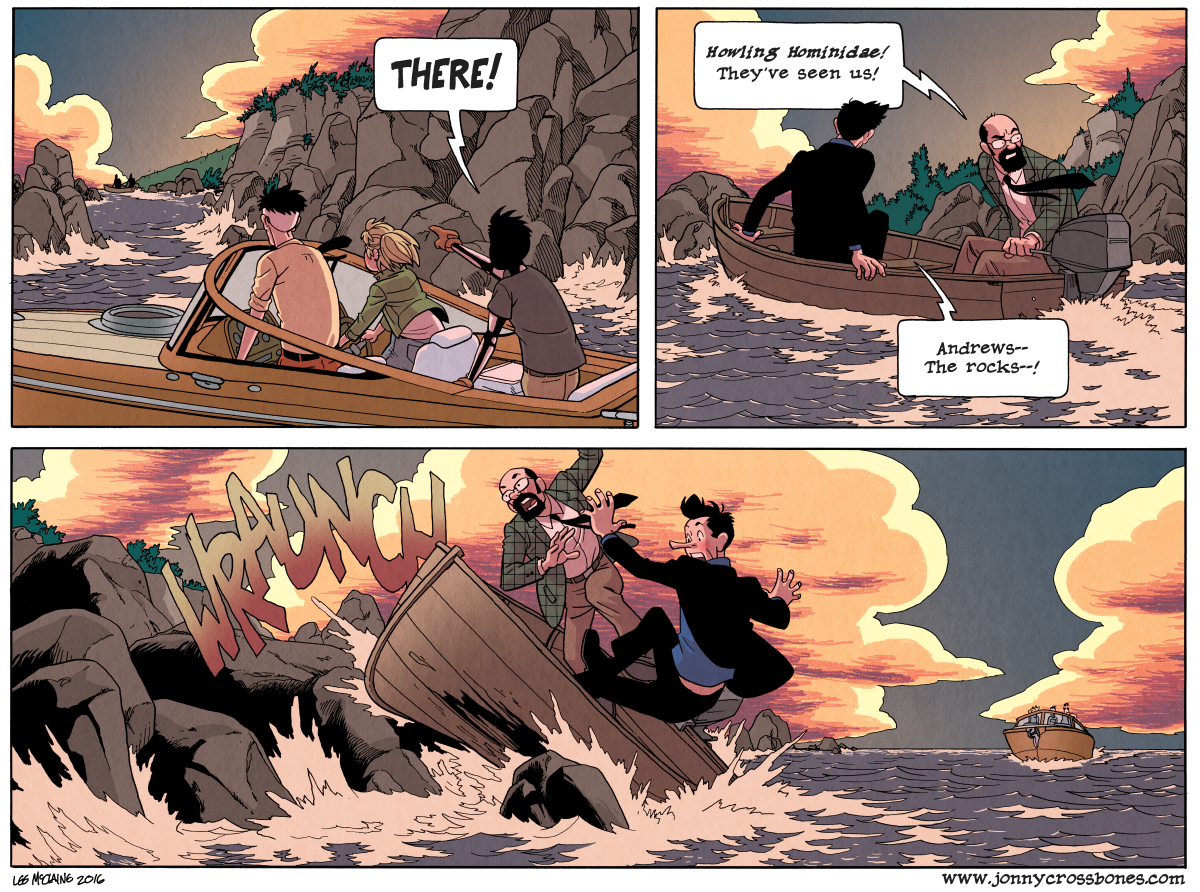 Dead Man at Devil's Cove, Chapter Three, page 90B