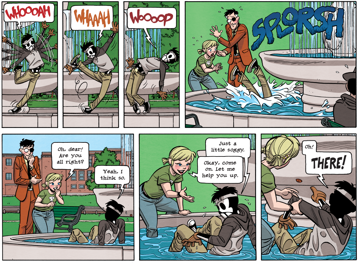 Dead Man at Devil's Cove, Chapter 4, page 97A