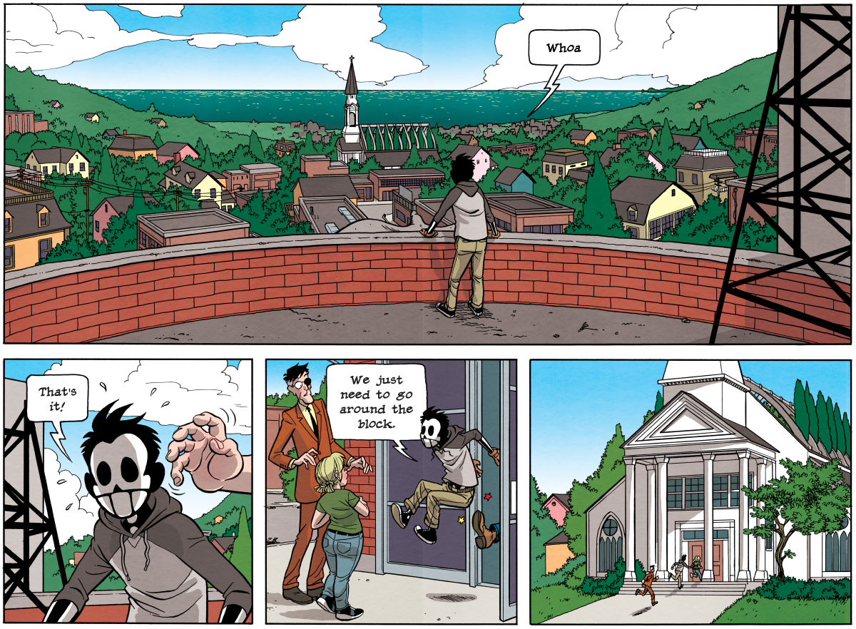 Dead Man at Devil's Cove, Chapter 4, Page 100A