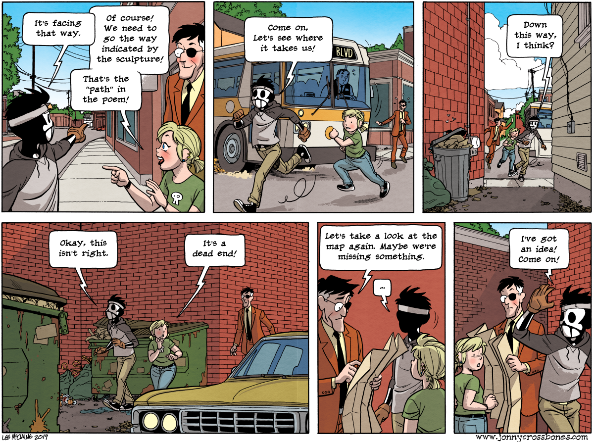 Dead Man at Devil's Cove, Chapter 4, page 99A