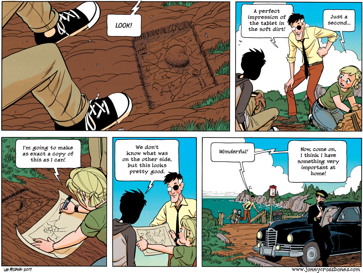 Dead Man at Devil's Cove, chapter 4, page 108A