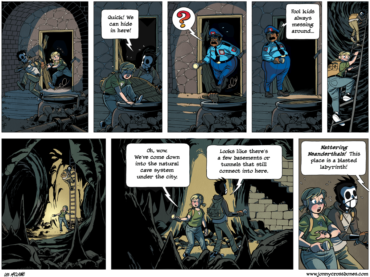 Dead Man at Devil's Cove, chapter 4, page 113A