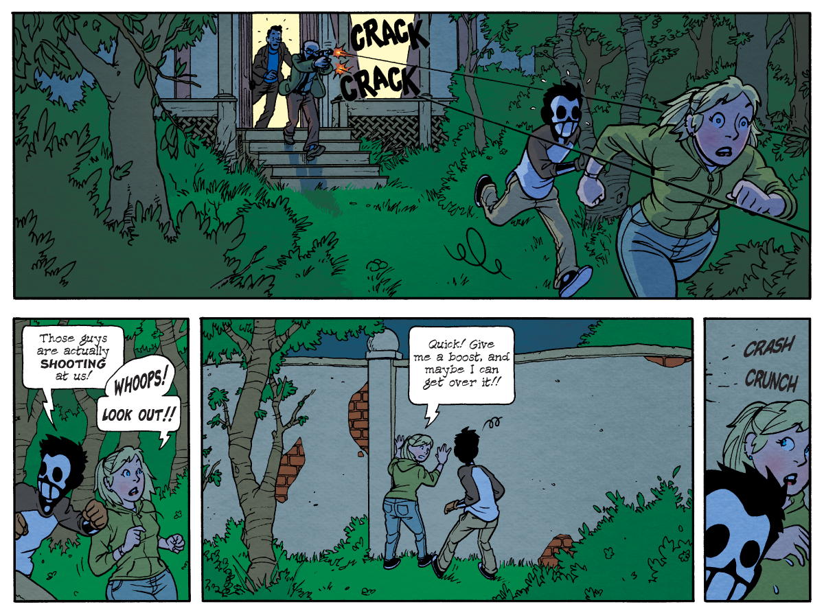 Dead Man at Devil's Cove, Chapter One, Page 15B