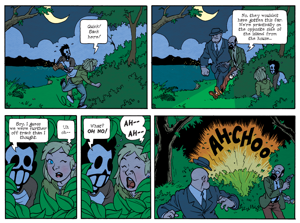 Dead Man at Devil's Cove, Chapter One, Page 17B