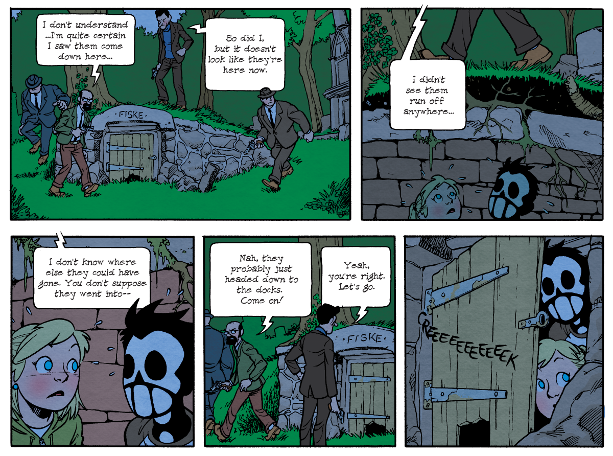 Dead Man at Devil's Cove, Chapter One, Page 21A