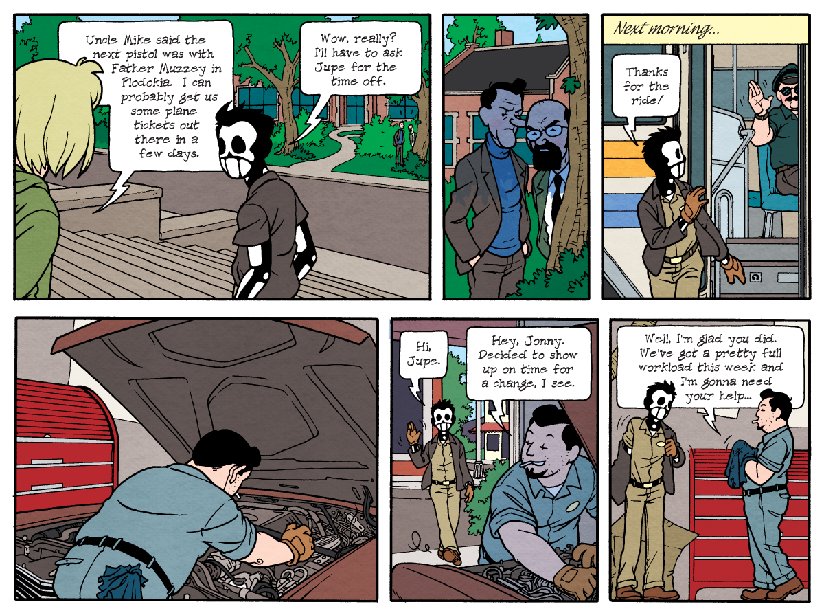 Dead Man at Devil's Cove, Chapter One, Page 29B