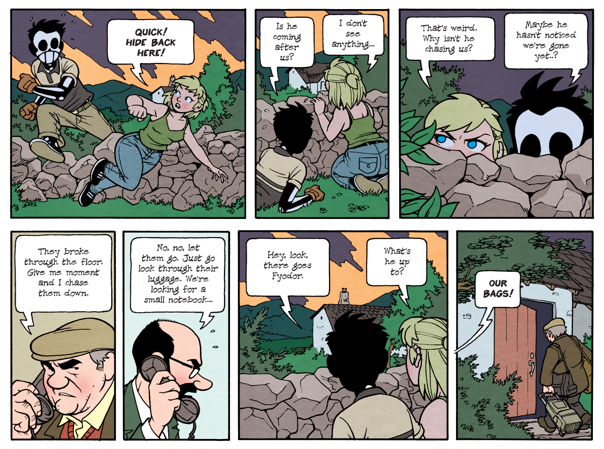 Dead Man at Devil's Cove, Chapter Two, Page 35A