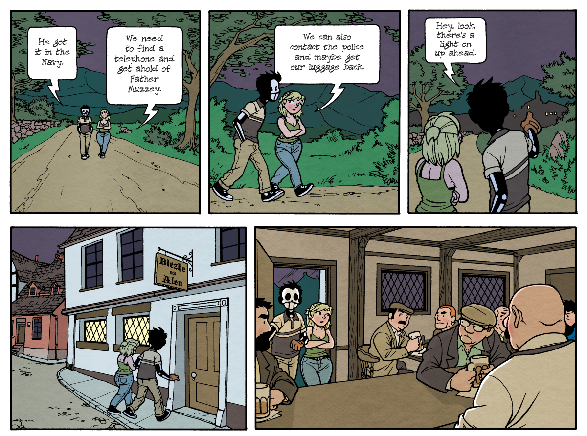 Dead Man at Devil's Cove, Chapter Two, Page 36A