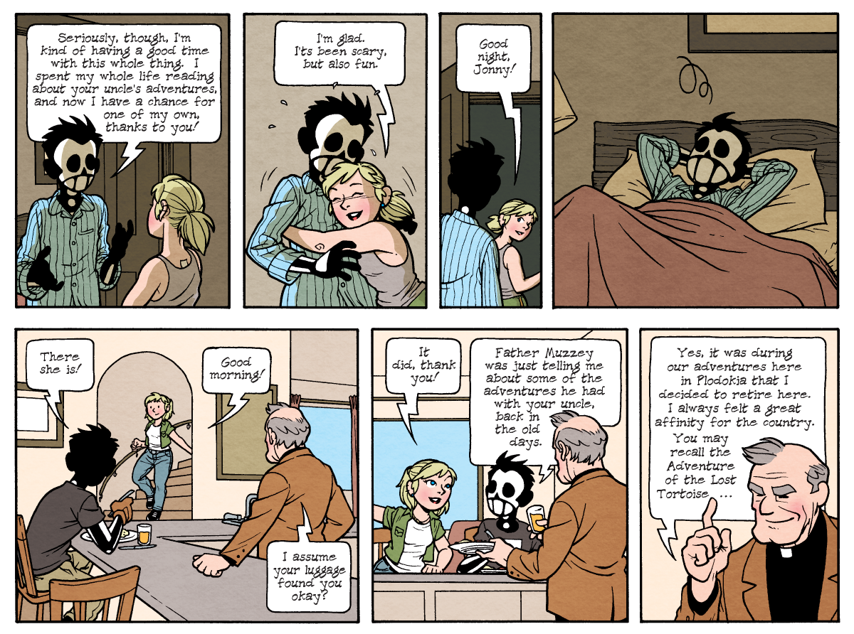Dead Man at Devil's Cove, Chapter Two, Page 38B