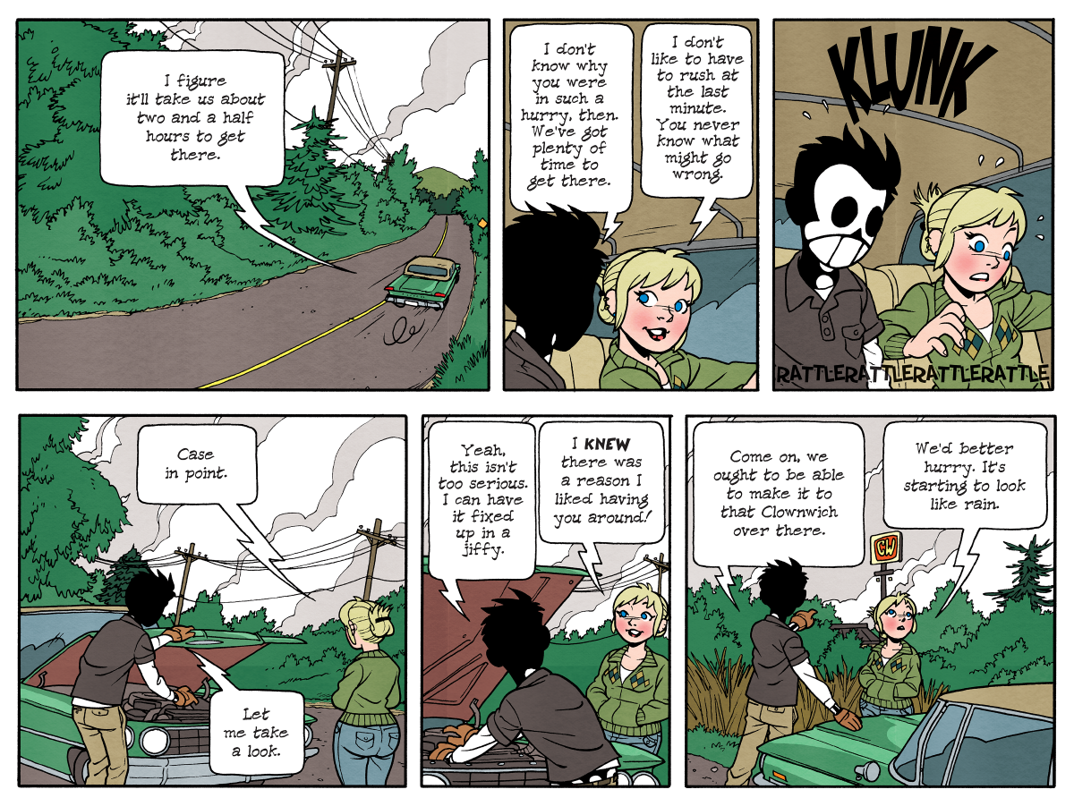 Dead Man at Devil's Cove, Chapter Three, Page 65A
