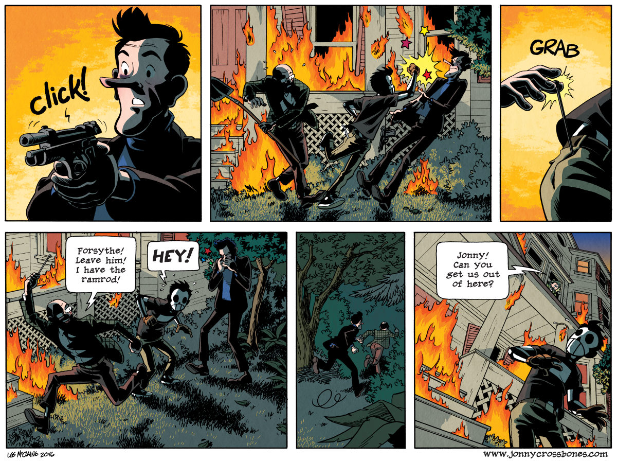 Dead Man at Devil's Cove, Chapter Three, Page 85B