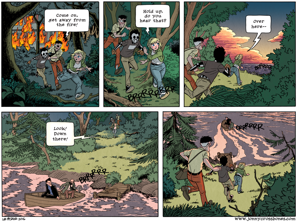 Dead Man at Devil's Cove, Chapter Three, Page 88A