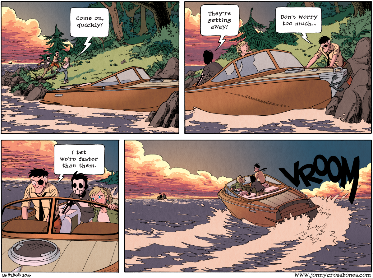Dead Man at Devil's Cove, Chapter Three, page 88B
