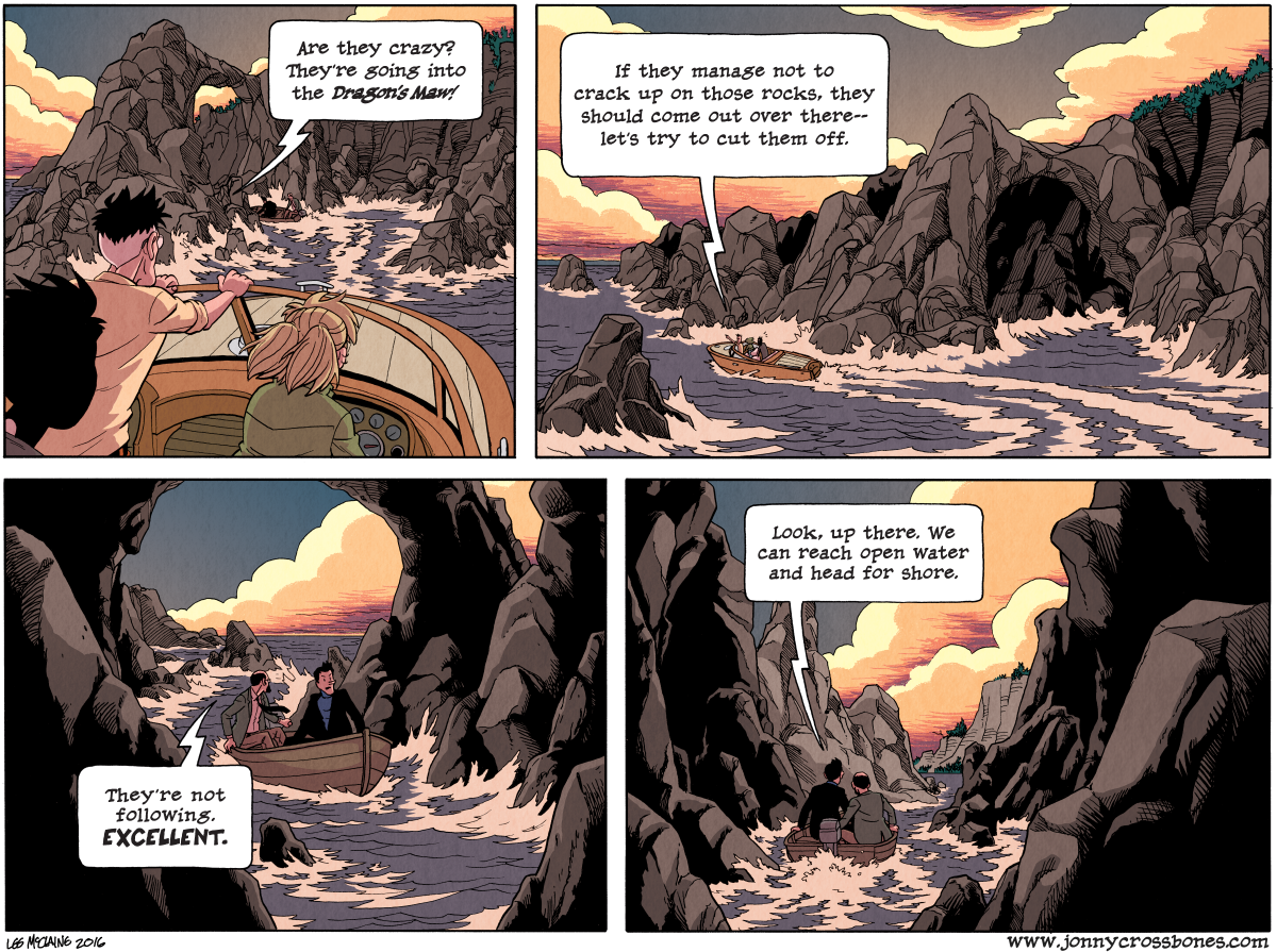 Dead Man at Devil's Cove, Chapter Three, page 90A