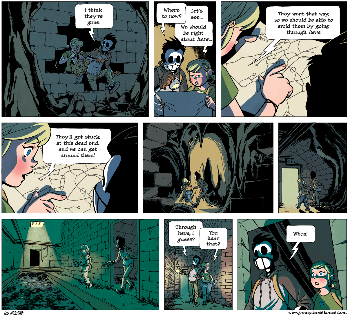 Dead Man at Devil's Cove, chapter 4, page 114A