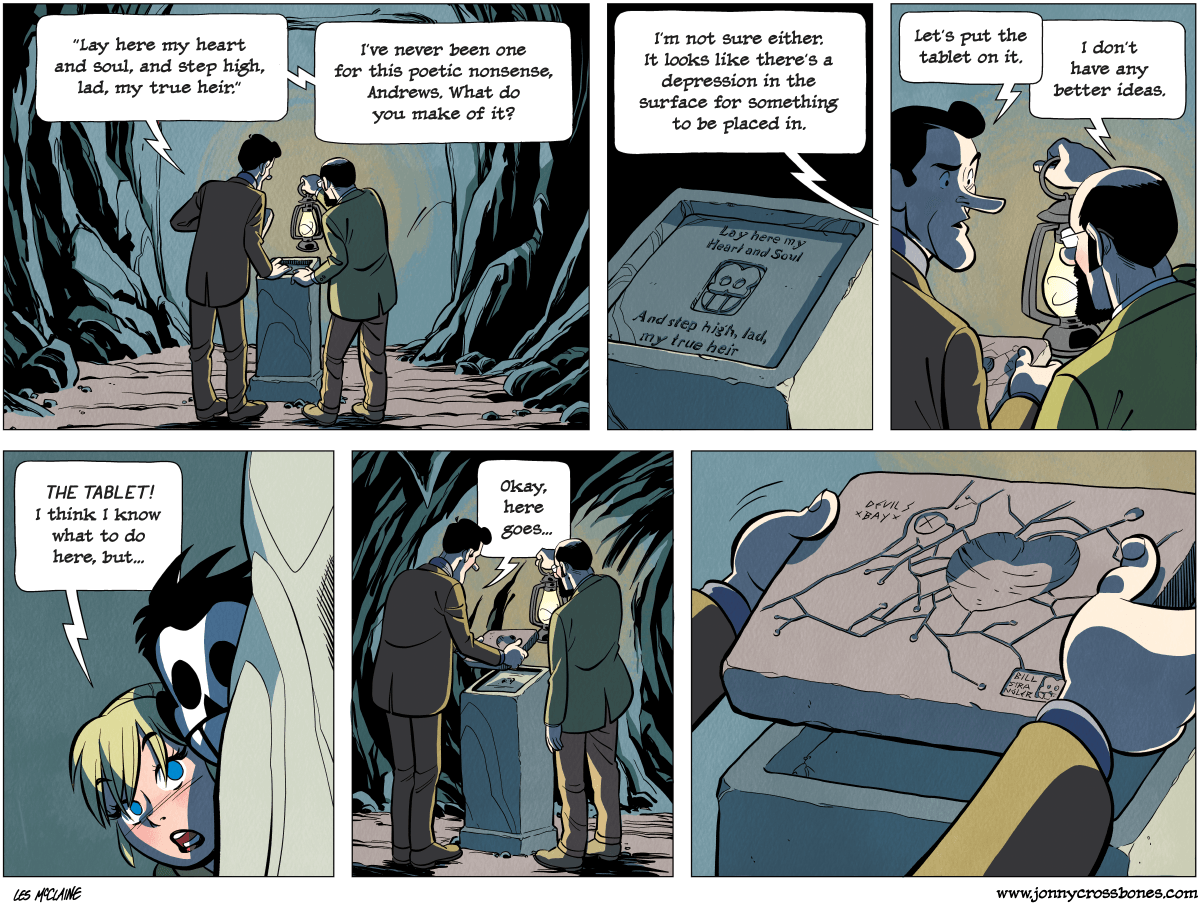 Dead Man at Devil's Cove, chapter 4, page 121A